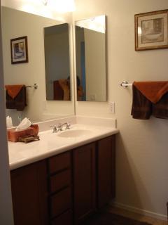 Master bath area - Shower and Tub