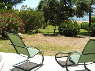 Villa Surleau bord de mer Corse Sud baie Pinarello