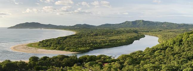 Aerial view of Las Baulas National Park