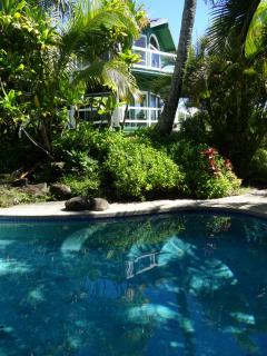Beautifully landscaped pool
