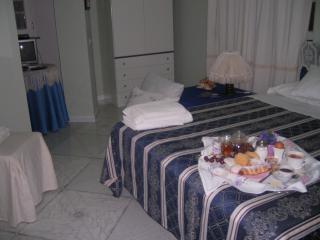 camera 'Le Genziane' dove prevalgono i toni del blu