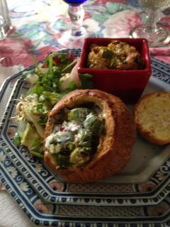 Home-cooked meal: Versailles brioches and eggs 'Négligence'