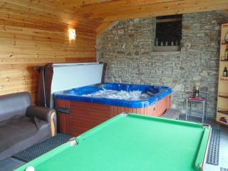 Cottage Private Hot Tub in Log Cabin Brynmeillion, Llandysul