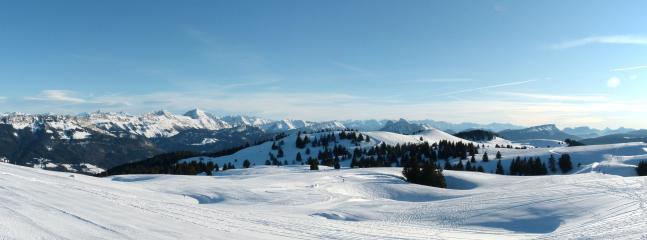 a 13 km: le Semnoz en invierno