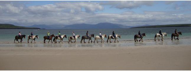 Horse Riding on Ventry Beach