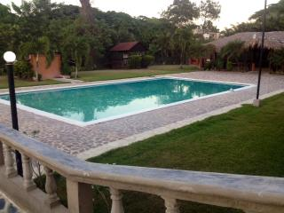 POOL, TWO AIR CONDITIONED BEDROOMS, GARDEN, SECURITY