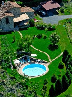 Tuscany Villa Centopino exterior view