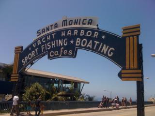 12 blocks from the Santa Monica Pier.