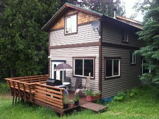 Mountain Cottage above Slocan Lake with Views!