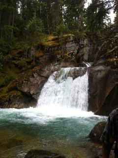 Nemo Falls located across from Silverton in the Valhalla Provincal Park