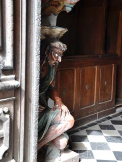 The Devil at the church in Rennes le Château, only adds to the mysteries of this wonderful place!
