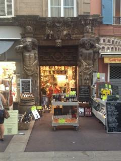 Interesting old shops in Frejus.