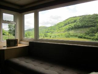 Static caravan on peaceful Smallholding Nr Bala