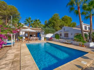 Newly renovated colonial spanisch summer villa, Moraira