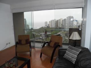 Ocean View Spectacular/balcony Romantic Miraflores, Lima