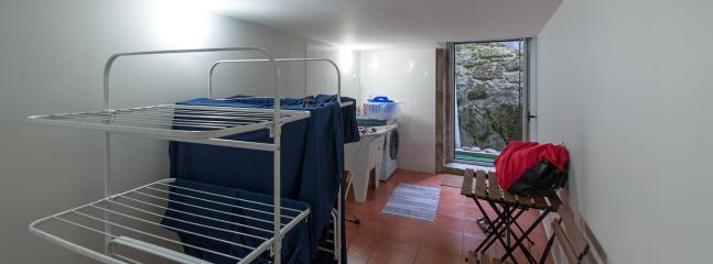Shared Laundry (washing machine and drying stands, but you have your own drying stand in the apartment).
