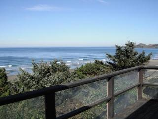 Oceanfront in Newport's Nye Beach w/ a trail to the beach!
