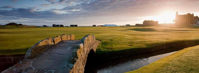 St Andrews Old Course - Just a 1-hour drive away