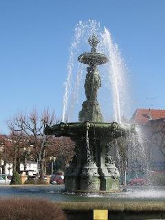 Fontaine des trois Graces.
