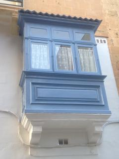 Traditional Maltese balcony