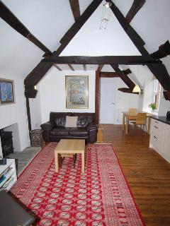 Exposed old beams