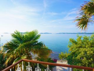 Luxury seafront villa, waterfront, private pool, Orebic