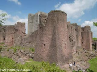 Goodrich Castle run by English Heritage
