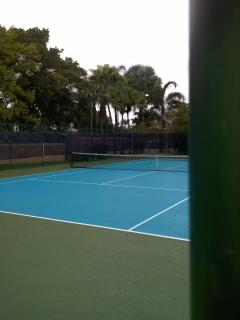 Property tennis courts