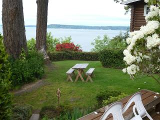 Puget Sound Beach Cabin Getaway - Lacey Olympia