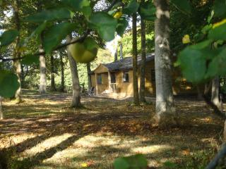 The Apple Wood - Luxury 2 bed cabin near Longleat, Heytesbury