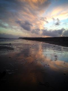 Autumn skies over Winchelsea Beach
