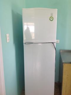 New refrigerator with lots of freezer space.