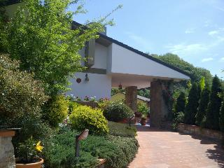 Entrance to large spacious villa with beautiful gardens