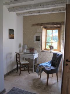 Detail of ground floor bedroom