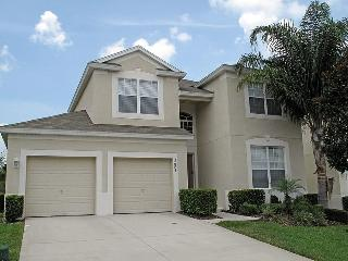 Elegant, modern 5 bedroom home with games room, private pool and spa, 1.5 miles to Disney, Four Corners