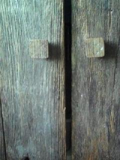 Ancient barn wood details