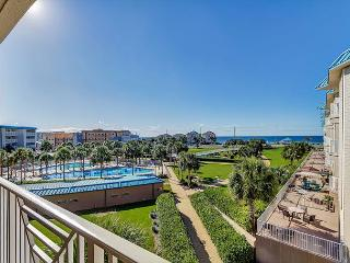 Coast Resort B313 with Gulf Views ~ Free Golf!