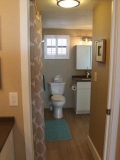 Large vanity to main bathroom