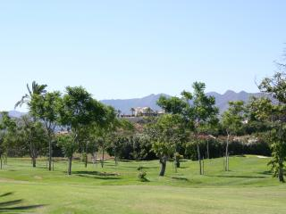 view from the golf course onto the finca