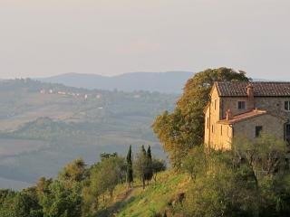 the property overlooking the valley of cecina