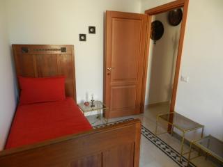 La stanza singola può ospitare anche un lettino