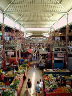 A proximité du marché de Papeete