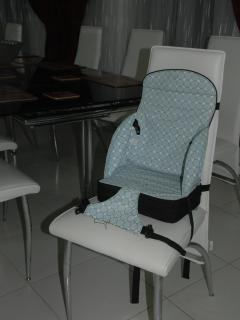 Highchair adapter available for infants
