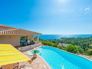 High standard villa with seaview and private swimming pool, Sari-Solenzara