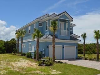 Sunset Blue Beach Home in Cinnamon Beach just a short stroll to the sun/sand!