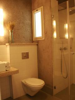 Delicate bathroom