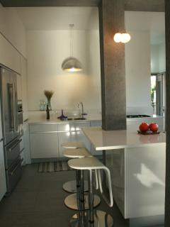 Breakfast corner/table in the open kitchen