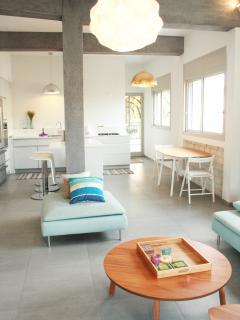 Stylish and spacious living room