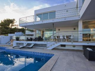 5 bedroom Villa in Cala Tarida, Balearic Islands, Spain : ref 5047419