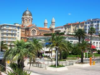 Vue mer,  appart dans Rés. de standing  St Raphaël